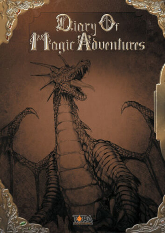TORA EDIZIONI DOMA Artbook - Diary of Magic Adventures