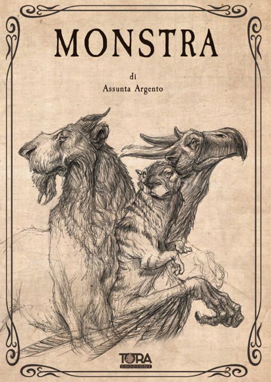 TORA EDIZIONI Libro Illustrato - MONSTRA - Assunta Argento