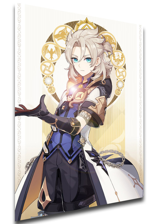 Poster Videogame - Genshin Impact - Albedo