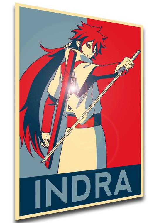 Poster Propaganda - Naruto - Indra Ootsutsuki - LL1476