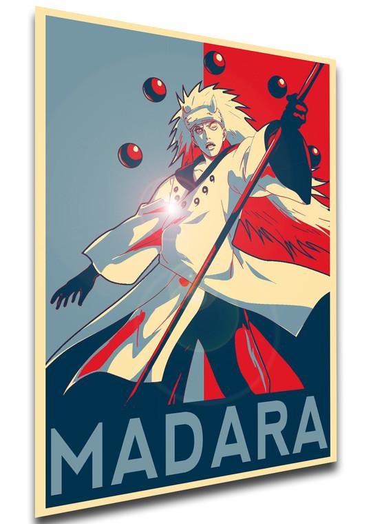Poster Propaganda - Naruto - Madara Uchiha Six Path - LL1493