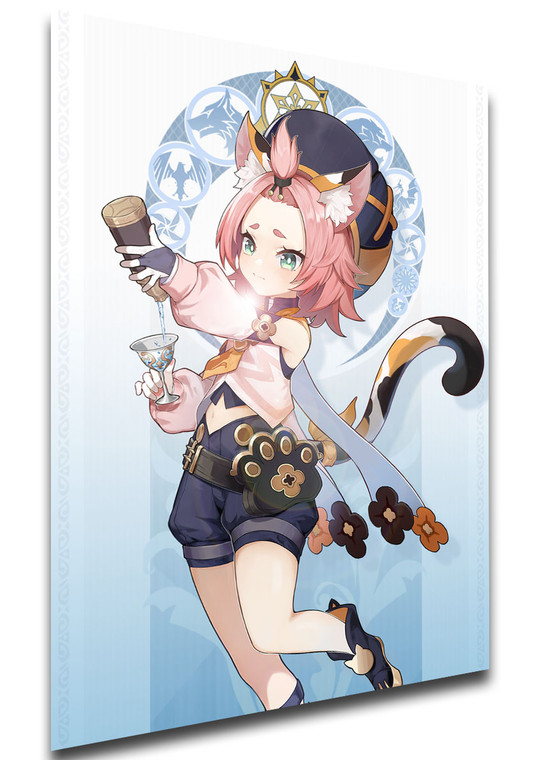 Poster Videogame - Genshin Impact - Diona