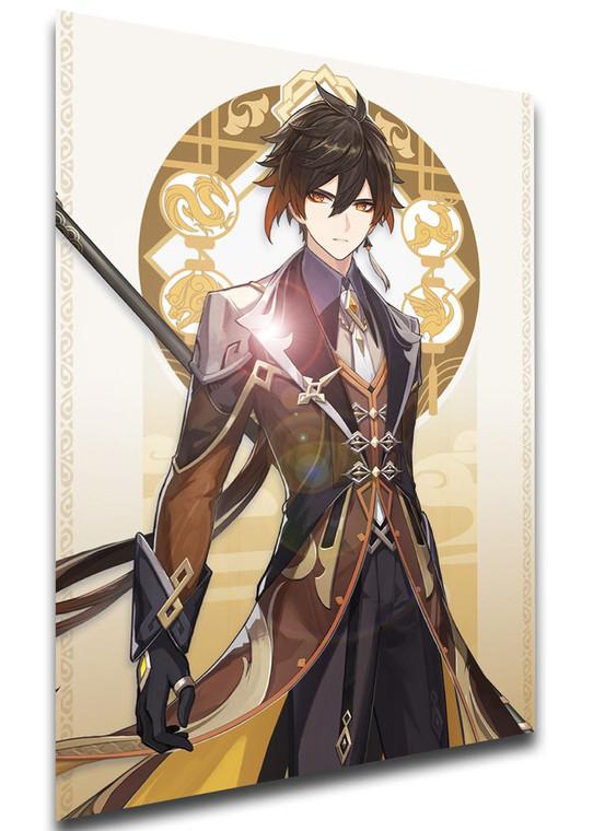 Poster Videogame - Genshin Impact - Zhongli