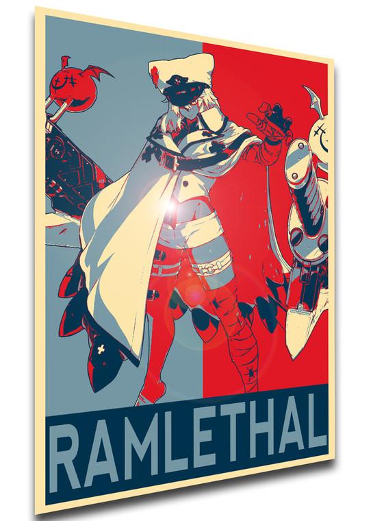 Poster Propaganda - Guilty Gear -STRIVE- Ramlethal Valentine - LL2172