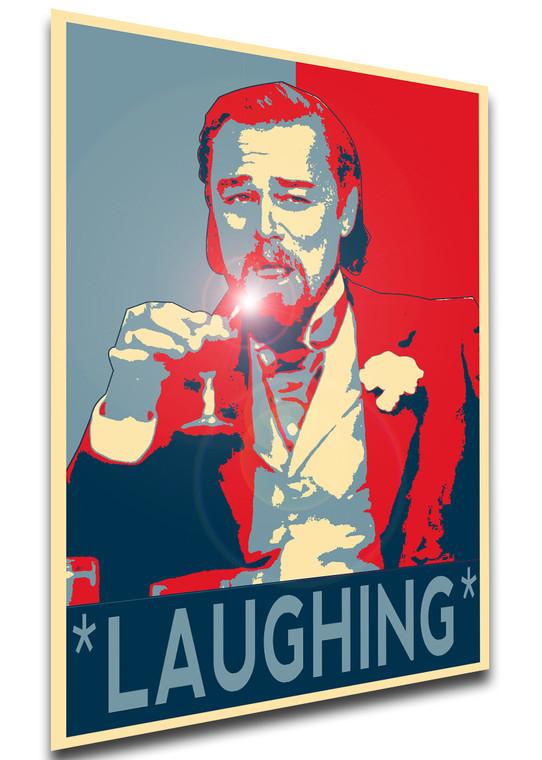Poster Propaganda - Meme - DiCaprio Laughing - LL1265