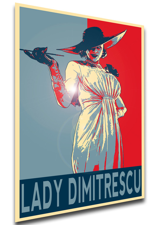 Poster Propaganda - Resident Evil Village - Lady Dimitrescu - LL2043