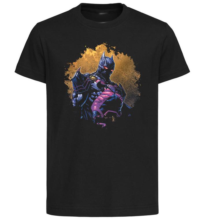 T-Shirt Black Grey - Dark Knight Death Metal - Batman