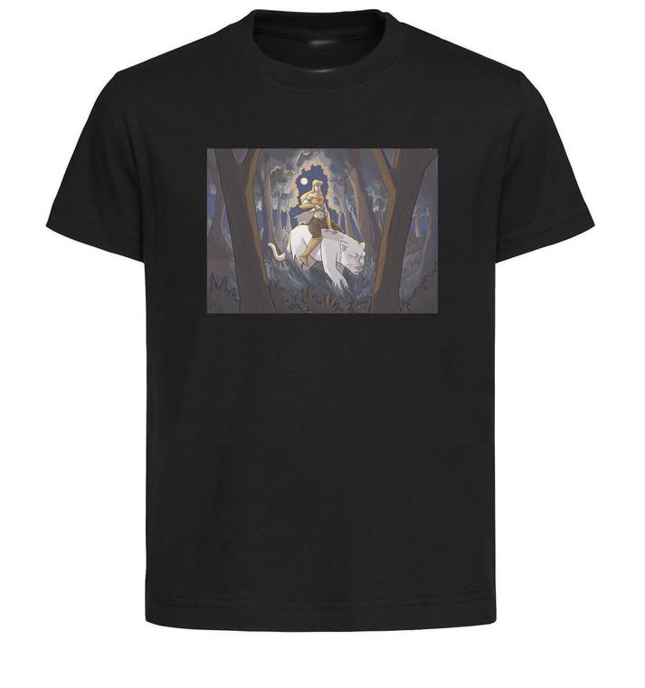 T-Shirt Black Grey White - Tora Edizioni - Claudia Raidena Elia Mazzantini - Drizzit - Katy & Glenda Tribute