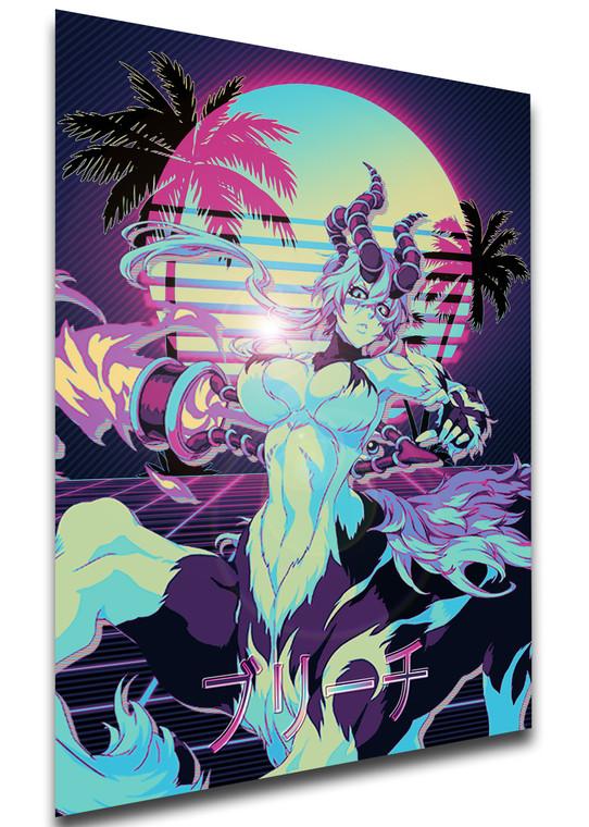 Poster Vaporwave 80s Style - Bleach - Nelliel Tu Odelschwanck - LL1833