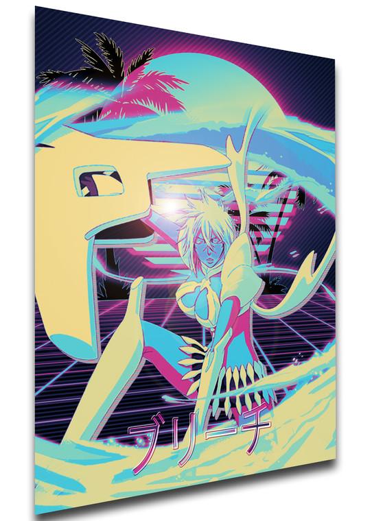 Poster Vaporwave 80s Style - Bleach - Tier Harribel - LL1834