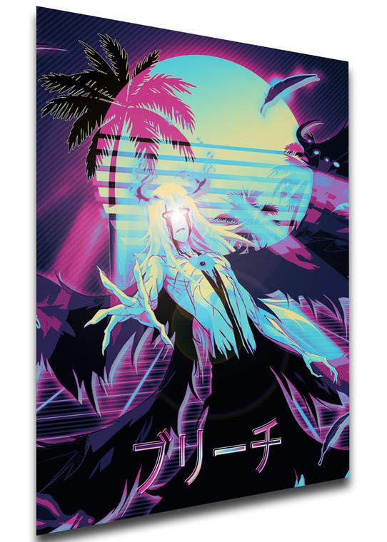 Poster Vaporwave 80s Style - Bleach - Ulquiorra Schiffer - LL1831