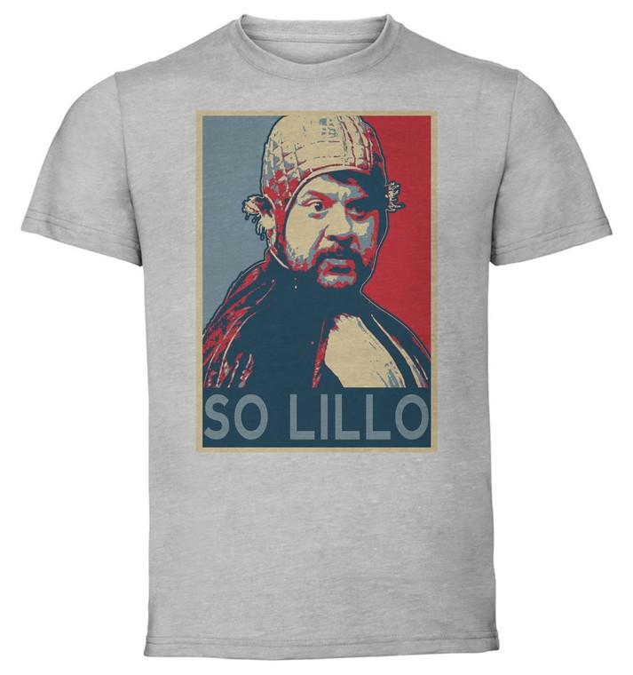 T-Shirt Unisex Grey Propaganda Meme - LOL - Lillo So Lillo SA0821
