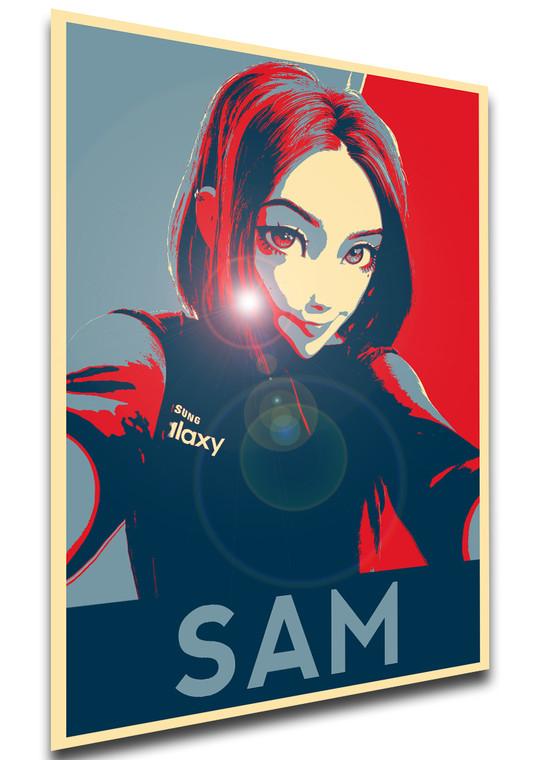 Poster Propaganda - Virtual Assistant - Samantha Sam SA0844