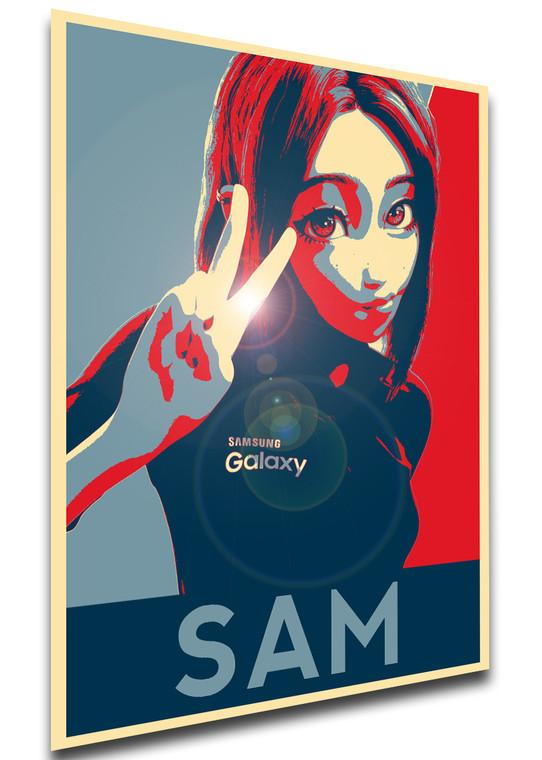 Poster Propaganda - Virtual Assistant - Samantha Sam Variant 01 SA0845
