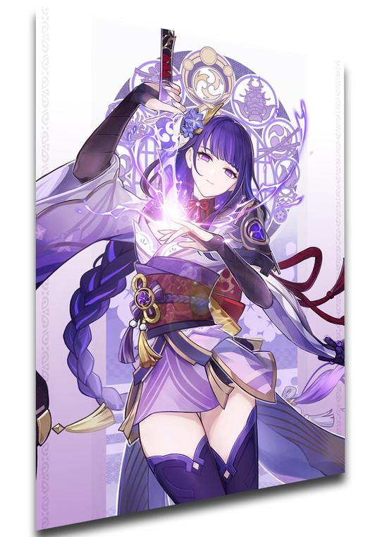 Poster Videogame - Genshin Impact - Raiden Shogun