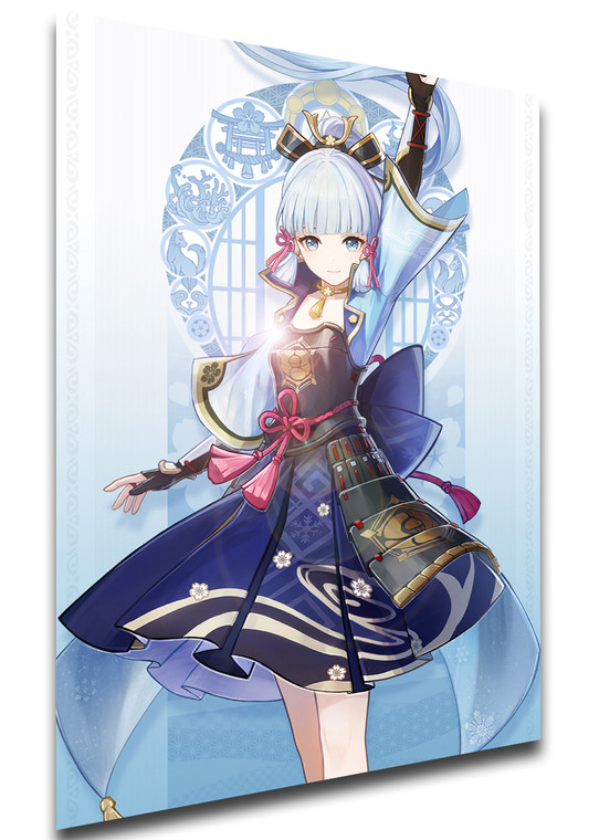 Poster Videogame - Genshin Impact - Kamisato Ayaka