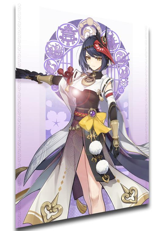 Poster Videogame - Genshin Impact - Kujou Sara