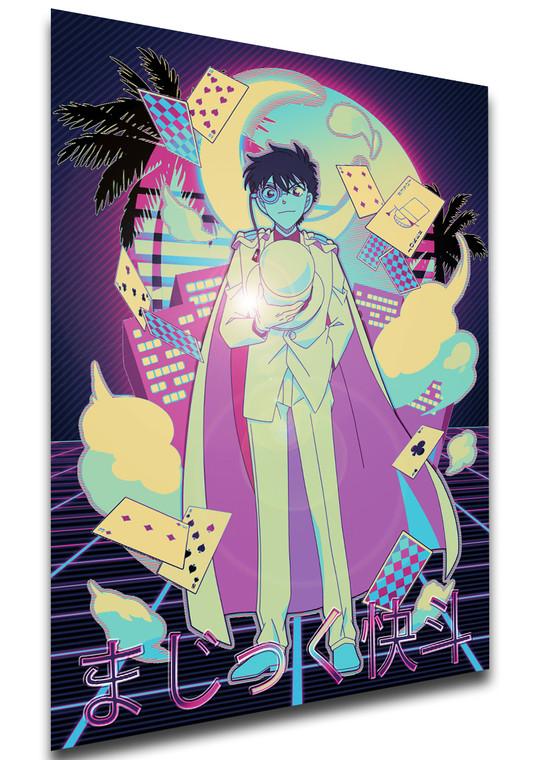 Poster Vaporwave 80s Style - Magic Kaito - Kaito Kid SA0854