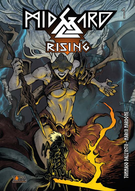 TORA EDIZIONI Fumetto Midgard Rising Vol.1 - Nardoni - Dall'Osto