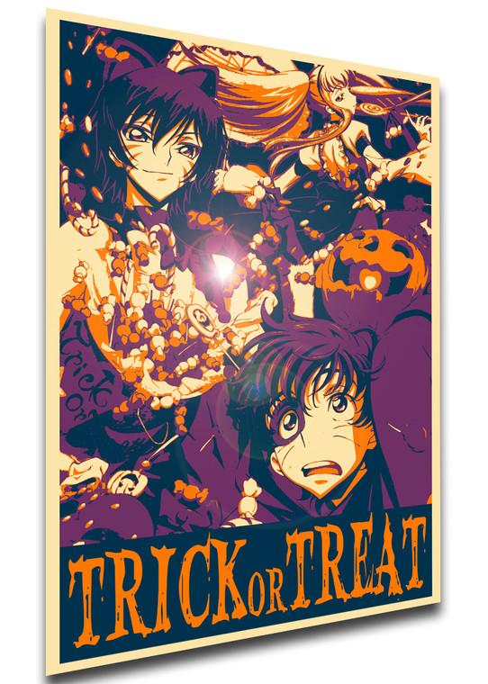 Poster Propaganda Helloween - Trick or Treat - Code Geass - Characters SA0910