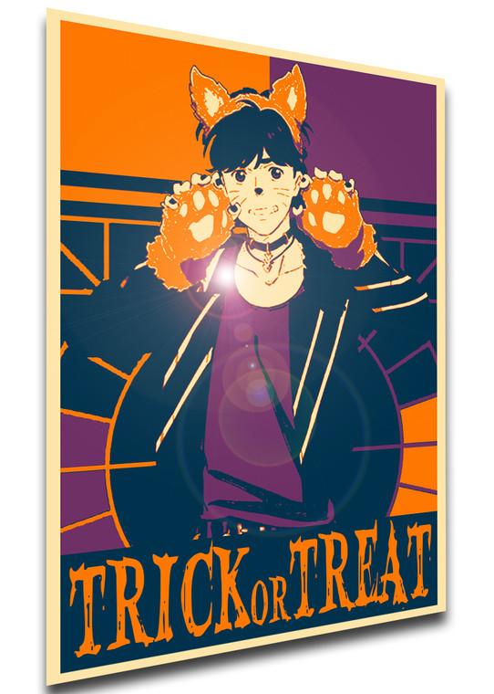 Poster Propaganda Helloween - Trick or Treat - Banana Fish - Eiji Okumura Werewolf SA0582