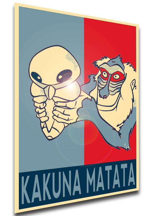 Poster - Propaganda - MA0358 - Pokemon Meme - Kakuna Matata