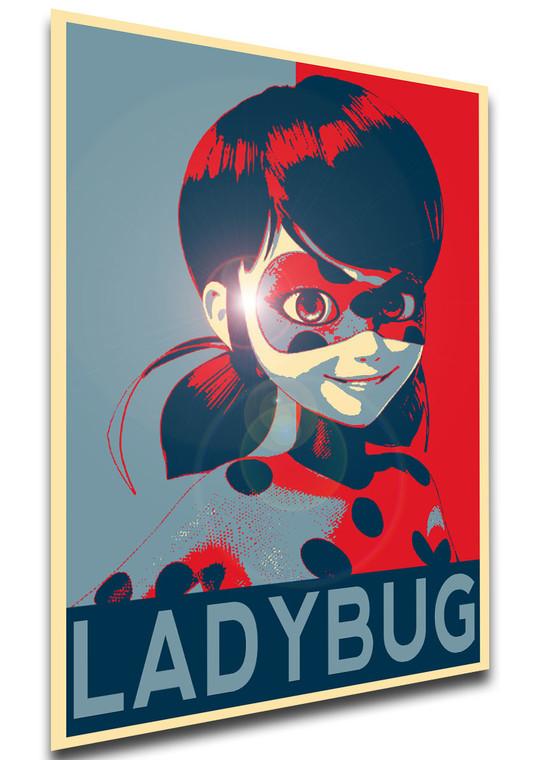 Poster - Propaganda - MA0308 - Miraculous Ladybug - Ladybug variant 2