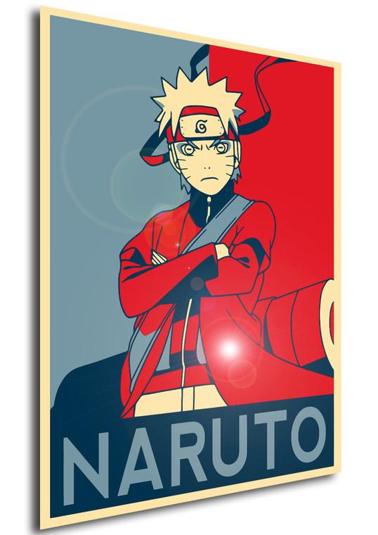 Poster Propaganda Naruto Uzumaki