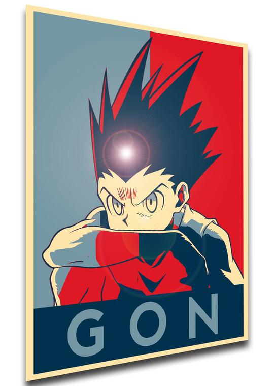 Poster - Propaganda - Hunter x Hunter - Gon variant 2