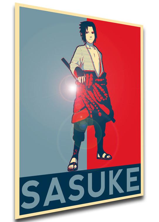 Poster - Propaganda - Naruto - Sasuke variant 2
