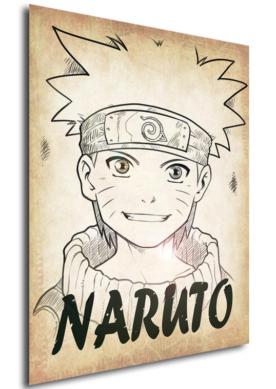 Poster - Anime - Wanted - Ganassa - Naruto