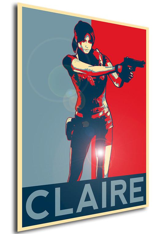 Poster - Propaganda - Resident Evil - Claire Redfield