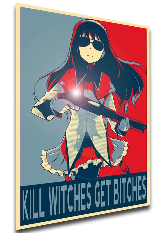 Poster - Propaganda - MA0101 - Puella Magi Madoka Magica - Homura Meme