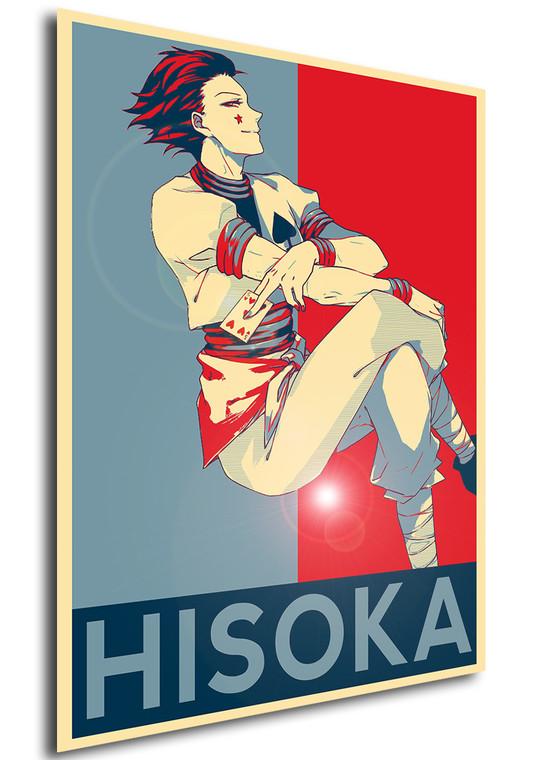Poster - Propaganda - Hunter x Hunter - Hisoka v4