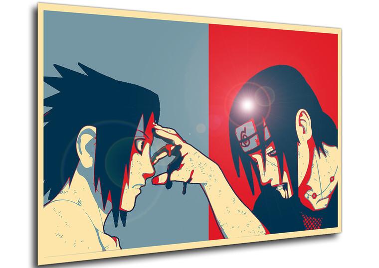 Poster - Propaganda Full - Naruto - Sasuke & Itachi