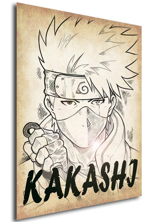 Poster - Anime - Wanted - Ganassa - Kakashi