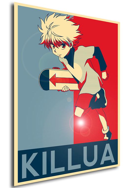 Poster - Propaganda - Hunter x Hunter - Killua variant 2