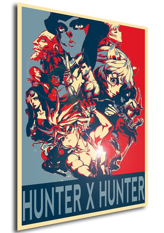 Poster Propaganda Hunter x Hunter Characters