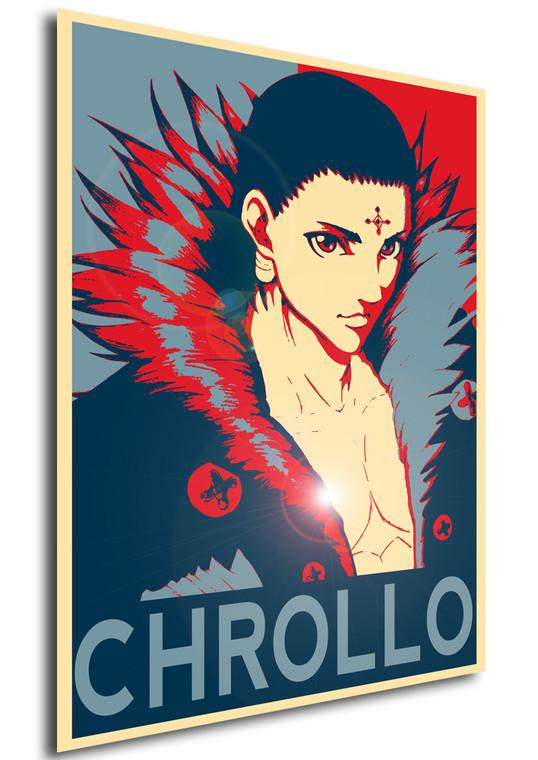 Poster Propaganda Hunter x Hunter Chrollo