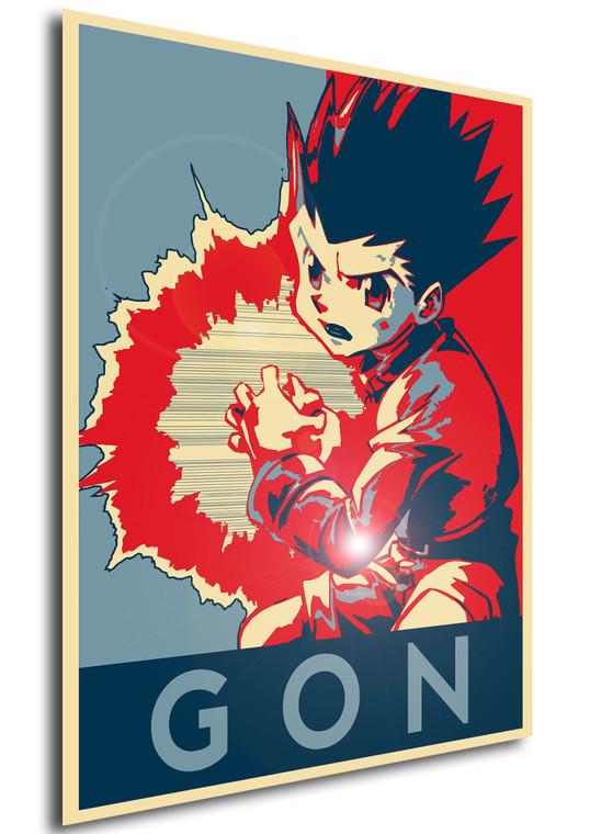 Poster Propaganda Hunter x Hunter Gon V J