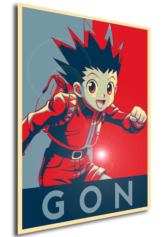 Poster Propaganda Hunter x Hunter Gon