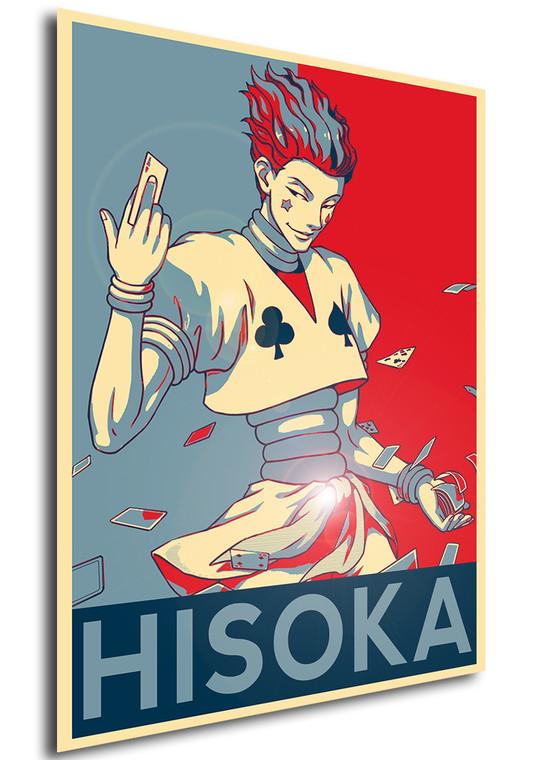 Poster Propaganda Hunter x Hunter Hisoka V 2