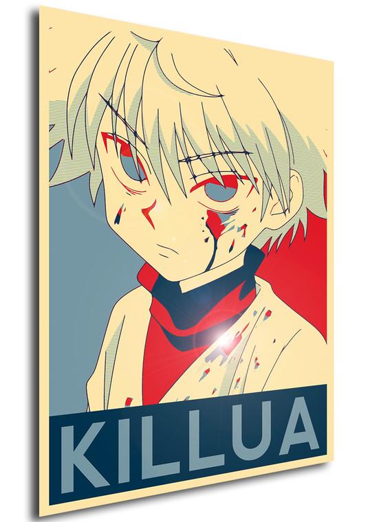 Poster Propaganda Hunter x Hunter Killua