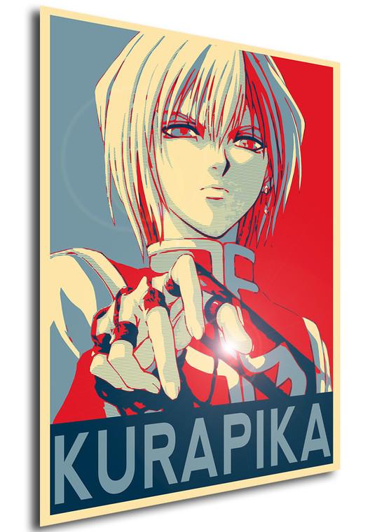Poster Propaganda Hunter x Hunter Kurapika