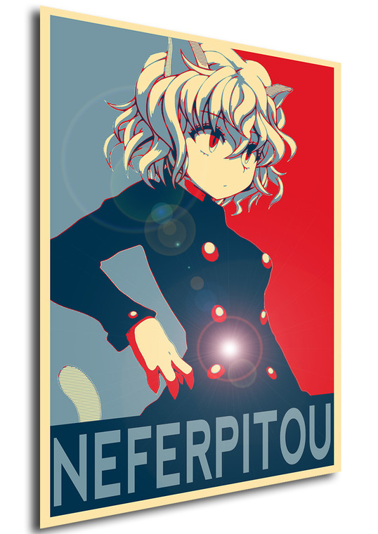 Poster Propaganda Hunter x Hunter Neferpitou