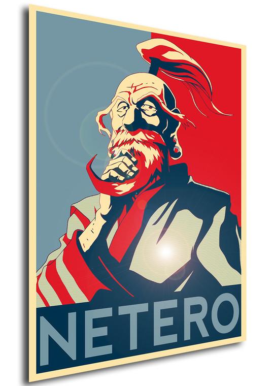 Poster Propaganda Hunter x Hunter Netero