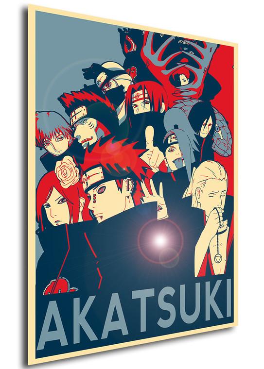 Poster Propaganda Naruto Akatsuki Characters