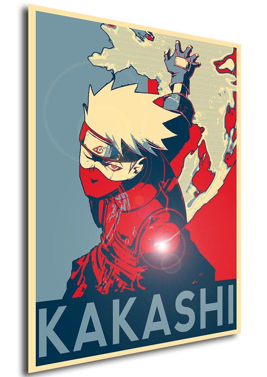 Poster Propaganda Naruto Kakashi V2