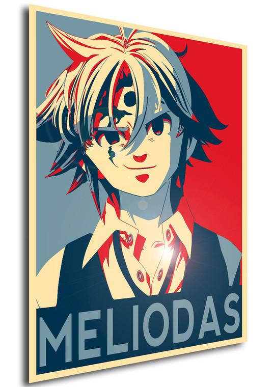Poster Propaganda Seven Deadly Sins Meliodas V