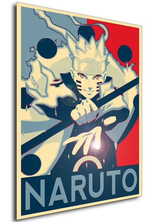 Poster - Propaganda - Naruto - Naruto variant 4